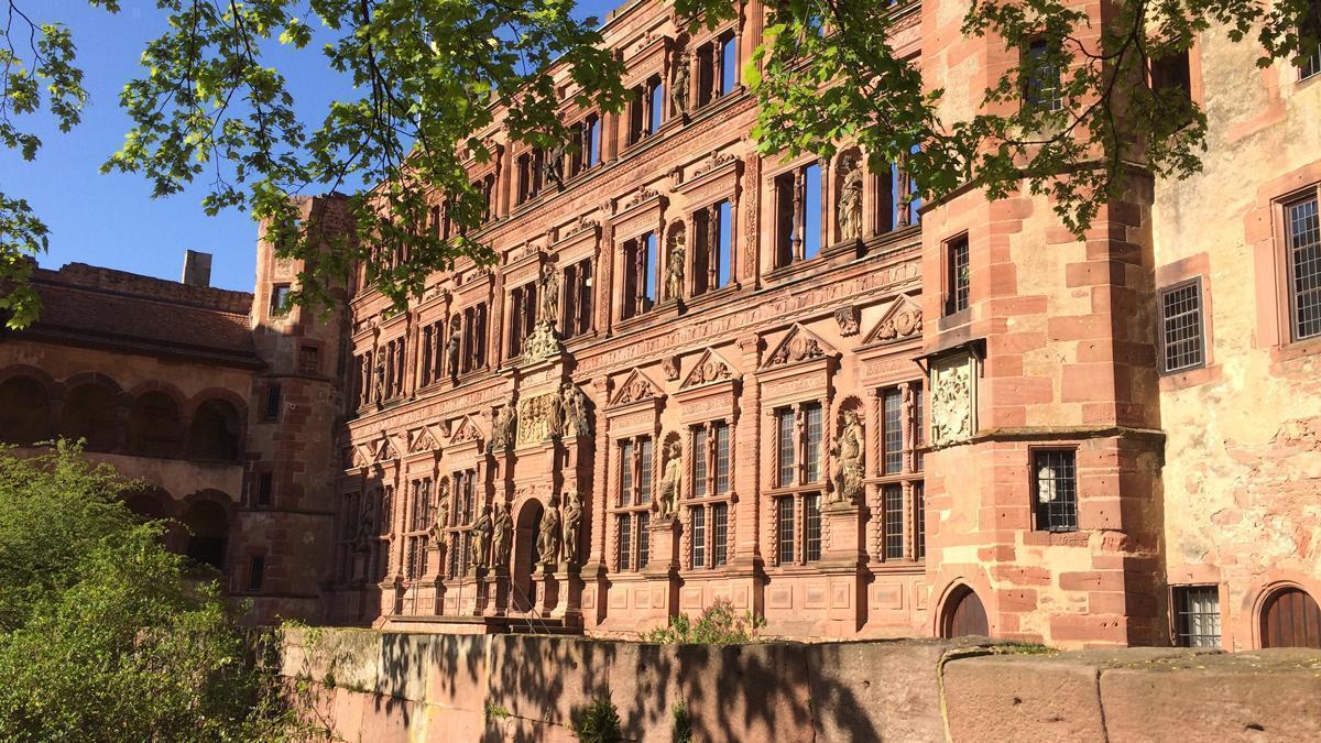 Schloss Heidelberg, Ottheinrichsbau; Foto: Staatsanzeiger für Baden-Württemberg, Petra Schaffrodt
