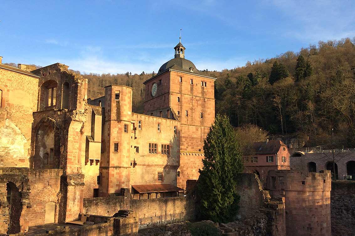 View of Heidelberg Palace. Image: Staatsanzeiger für Baden-Württemberg, Petra Schaffrodt