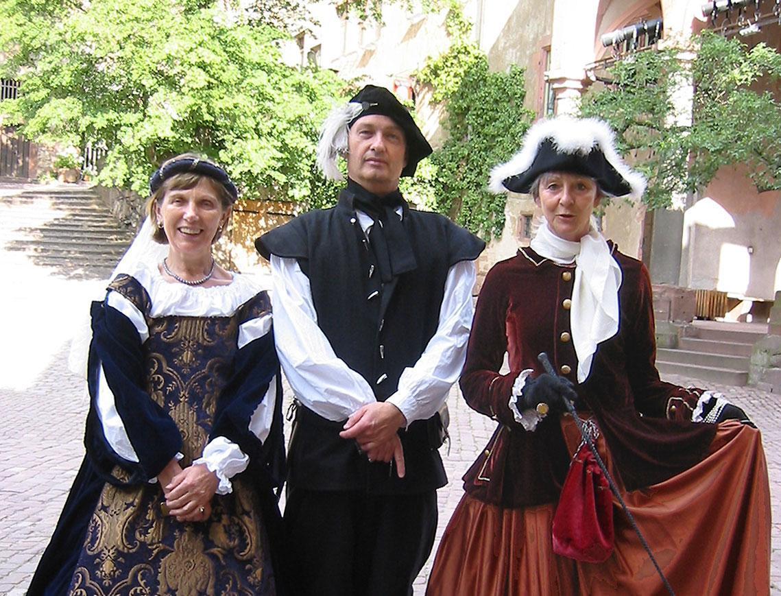 Schlossführer in Heidelberg; Foto: Service Center Schloss Heidelberg