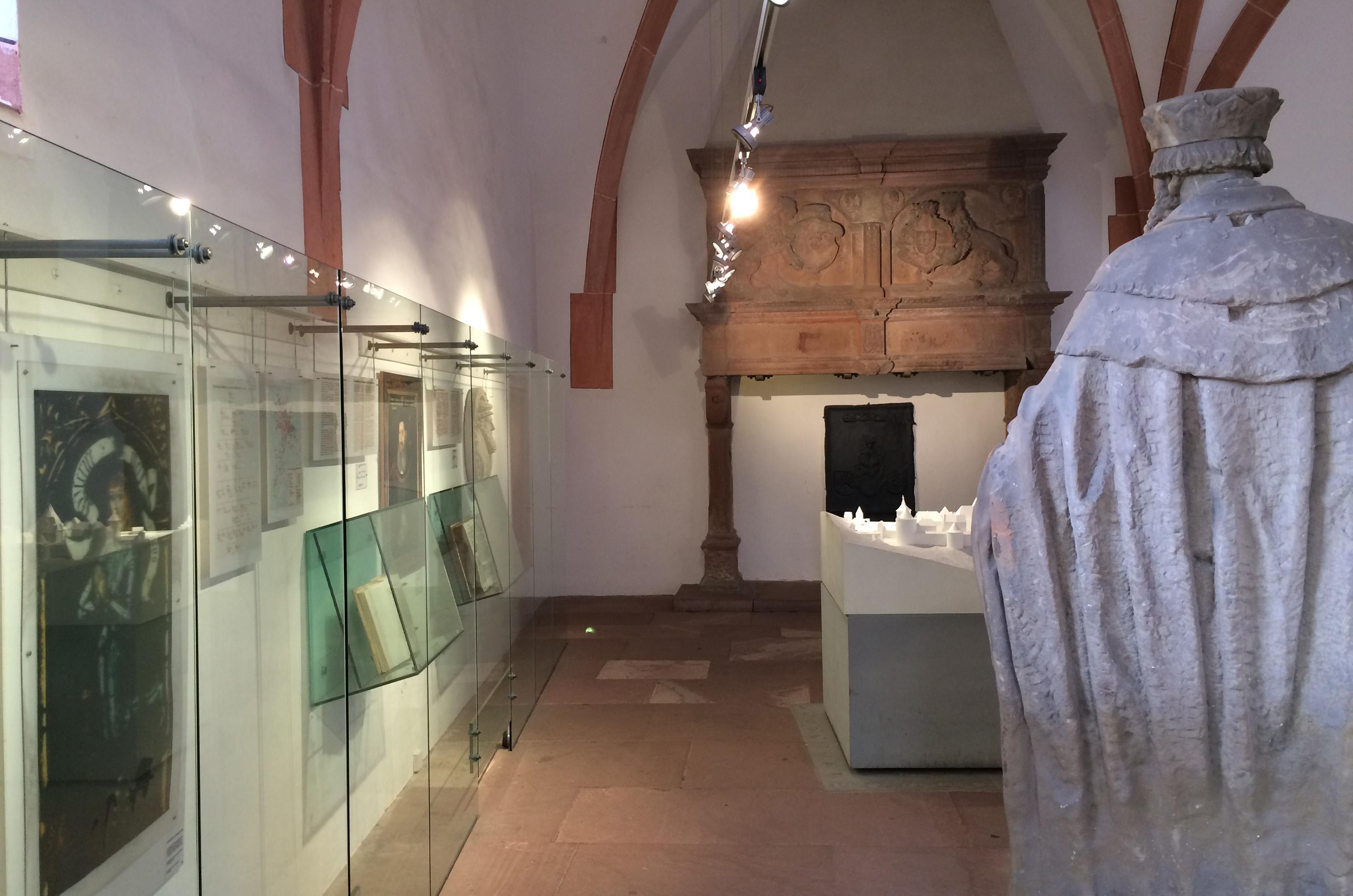 Innenansicht des Modellsaals im Ruprechtsbau von Schloss Heidelberg; Foto: Staatsanzeiger für Baden-Württemberg, Petra Schaffrodt