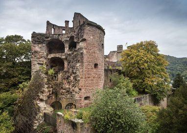 Schloss Heidelberg, Krautturm