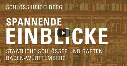 """Startbildschirm des Filmes """"Spannende Einblick mit Michael Hörrmann: Schloss Heidelberg"""""""