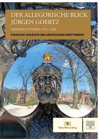 Buchcover vom Kunstführer zu Jürgen Goertz