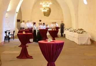 Heidelberg Palace, a place for a birthday party; photo: Möller Schlossgastronomie