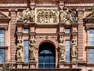 Schloss Heidelberg, Eingang Ottheinrichsbau