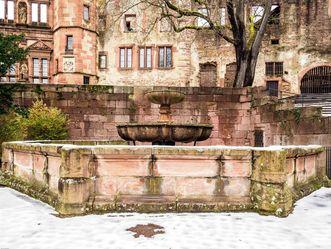 Schloss Heidelberg, Springbrunnen