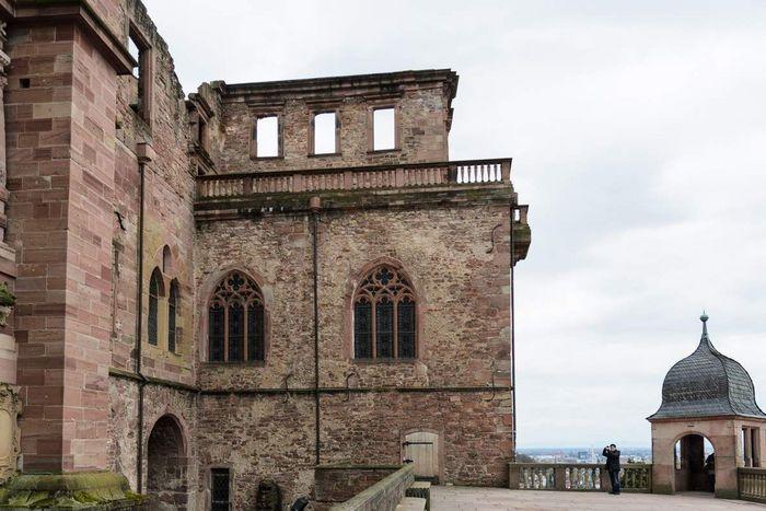Heidelberg Palace, Barrel Building
