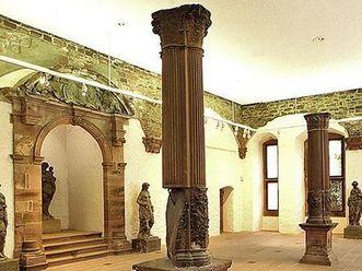 Interior of the Imperial Hall in the Ottheinrich Building at Heidelberg Palace. Image: Staatliche Schlösser und Gärten Baden-Württemberg, Arnim Weischer