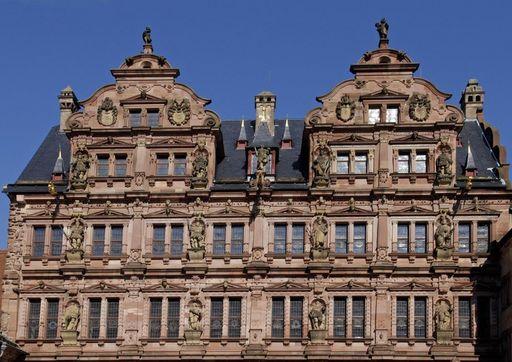 Der Friedrichsbau von Schloss Heidelberg; Foto: Landesmedienzentrum Baden-Württemberg, Eberhardt Späth