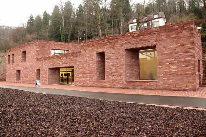Das Besucherzentrum von Schloss Heidelberg