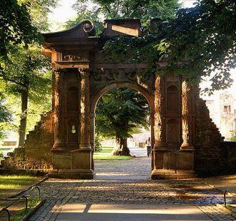 Elizabeth Gate at Heidelberg Palace. Image: Staatliche Schlösser und Gärten Baden-Württemberg, Lothar Becker