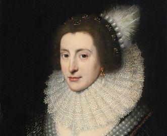 Elisabeth Stuart, Gemälde von Michiel van Miereveldt; Foto: Wikipedia, gemeinfrei