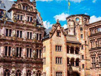 Schloss Heidelberg, Renaissance Paläste