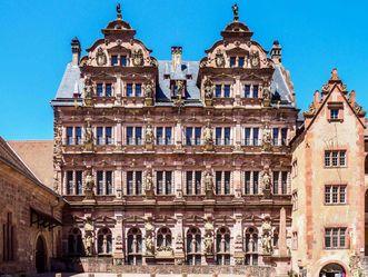 Schloss Heidelberg, Außenansicht Friedrichsbau