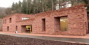 Le centre d'accueil des visiteurs du château de Heidelberg