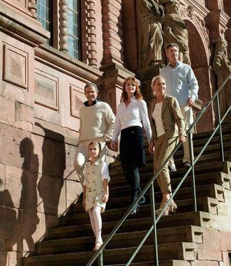 Visitors at Heidelberg Palace; photo: Staatliche Schlösser und Gärten Baden-Württemberg, Niels Schubert