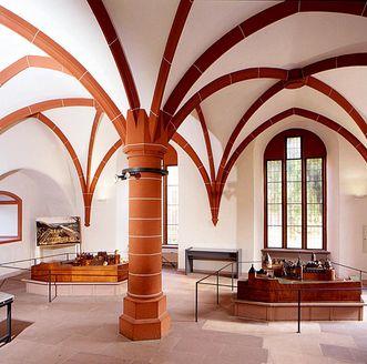 Modellsaal im Ruprechtsbau von Schloss Heidelberg; Foto: Staatliche Schlösser und Gärten Baden-Württemberg, Arnim Weischer