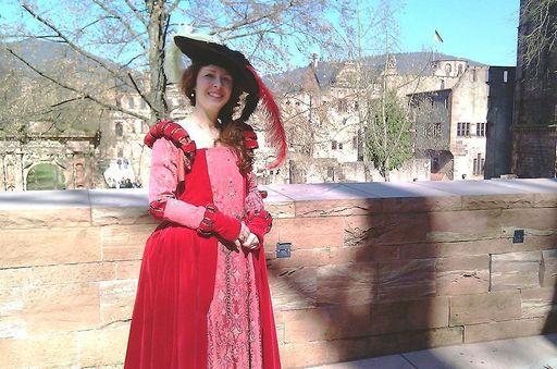 Susanne Späinghaus-Monschau, tour guide at Heidelberg Palace. Image: Heidelberg Palace Service Center