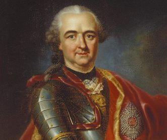 Porträt des Kurfürsten Carl Theodor von der Pfalz, Gemälde von Heinrich Carl Brandt, um 1791