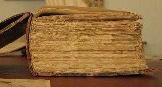 Historic book. Image: Staatliche Schlösser und Gärten Baden-Württemberg, Julia Haseloff
