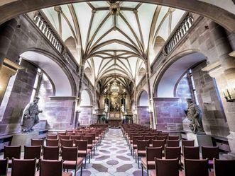 Schloss Heidelberg, Innenansicht Schlosskapelle