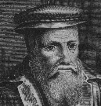 Portrait of Zacharius Ursinus. Image: Wikipedia, public