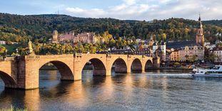 Ansicht von Schloss Heidelberg