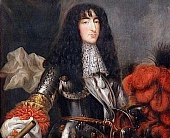Philippe of Orléans in a painting by Antoine Mathieu, circa 1660. Image: Wikipedia, public