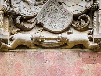 Schloss Heidelberg, das Strangkatzenziehen