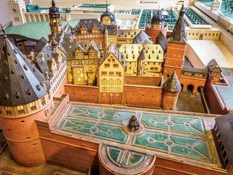 Schloss Heidelberg, Modell des Schlosses um 1620