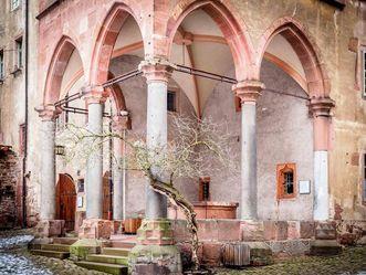 Brunnenhalle, Schloss Heidelberg