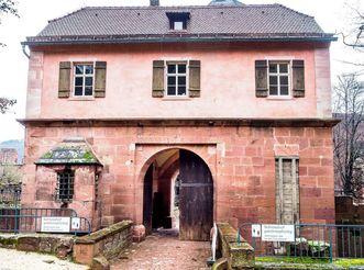 Schloss Heidelberg, Brückenhaus